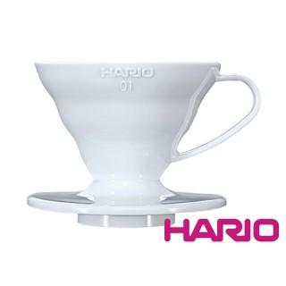 Пластиковый пуровер Hario V60 01 White