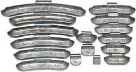 10 г    Груз набивной для стандартных дисков 100 шт-Україна