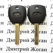 Корпус авто ключа под чип для Hyundai Grandeur, i20, i30, ix35 (Хюндай Грандер), лезвие TOY48