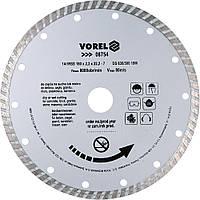 Отрезной алмазный диск 180 мм Vorel 08754