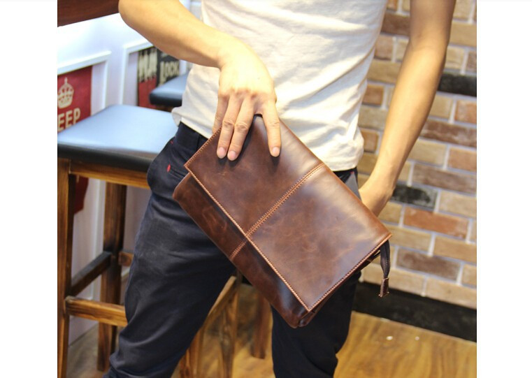 b4a9a7caeaa7 Стильная небольшая сумка для мужчин. Удобная кожаная сумка на плече. Модная  мужская сумка.