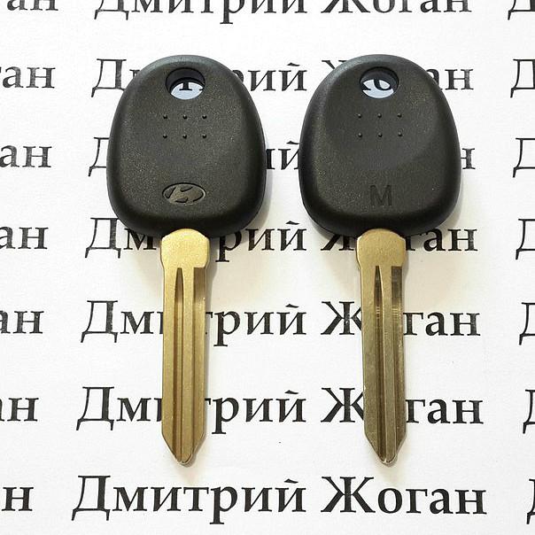 Корпус авто ключа под чип для Hyundai (Хундай) левый без упоров