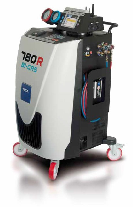Konfort 780R - Автоматическая установка для заправки кондиционера - Оборудование для СТО в Львове