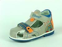 Детская обувь пинетки Clibee арт.F-92 Беж+Оранж (Размеры: 19-24)