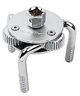 Съемник масляного фильтра трехлапый 64-120 мм