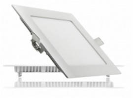 Светодиодный светильник LEDEX, квадрат,  12W