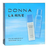 Женский подарочный набор DONNA LA RIVE (Туалетная вода+дезодорант)
