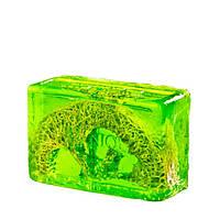 Глицериновое мыло куб ORG - Киви и Люфа, 100 г