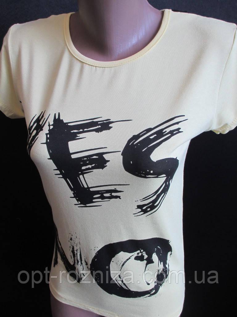 Молодежные футболки с коротким рукавом.