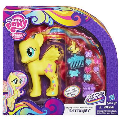 Флаттершай пони модница Делюкс игровой набор / My Little Pony Styling Strands Fashion Fluttershy