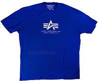 Оригинальные футболки  Alpha Logo Tee Alpha Industries
