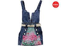 Джинсовый сарафан для девочки  3 года.Турция!Платье, юбка, сарафан джинсовыйДжинсовая одежда на девочку