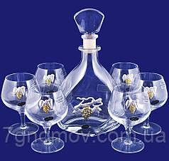 Набор 1 графин и 6 бокалов для коньяка в подарочной коробке Suggest арт. PB1025O7372