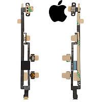 Шлейф для Apple iPad Mini, кнопки включения, с компонентами (оригинал)