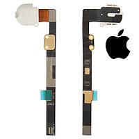 Шлейф для iPad Mini, коннектора наушников, с компонентами, оригинал