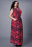 Женское платье из натуральной летней ткани