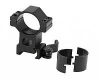 Кольца для оптического прицела Кр-КС04-d=25.4-30 mm-Weaver, алюминий