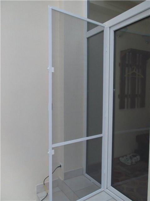 москитная сетка на петлях для двери