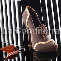 Силиконовая форма для шоколадных фигур Decosil (Женская туфелька)