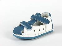 Детская обувь пинетки Clibee арт.TS-F-82 св.Синий-Белый (Размеры: 10-13)