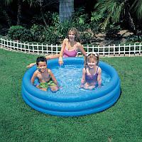 Детский надувной бассейн Intex 58426 Crystal Blue 147*33см, бассейн интекс детский, бассейн для детей, фото 1