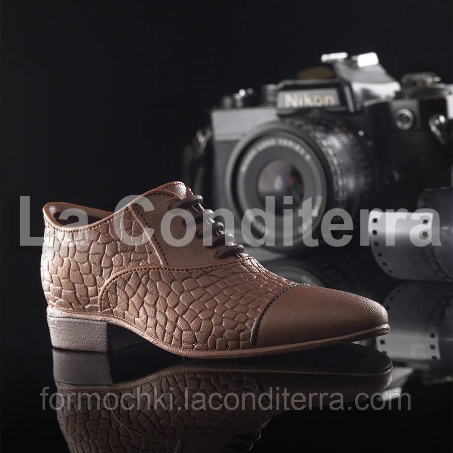 Силиконовая форма для шоколадных скульптур Decosil (Туфель мужской)