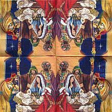 Декупажная салфетка Рождественская 5816
