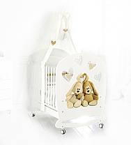 Кроватка Baby Expert LETTINO CREMINO LUX, фото 3
