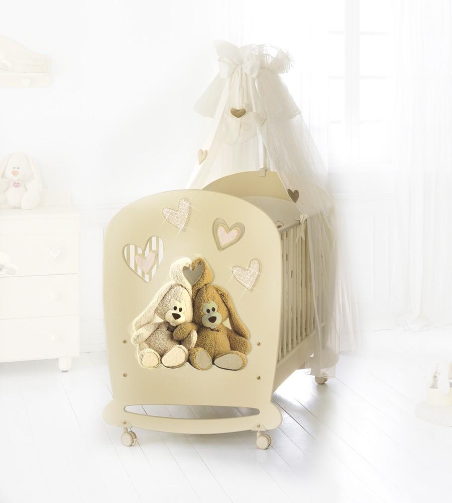 Кроватка Baby Expert LETTINO CREMINO LUX