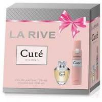 Женский подарочный набор LA RIVE CUTE (Туалетная вода+дезодорант)