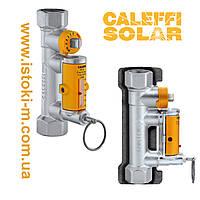 """Балансировочный клапан с измерителем расхода для гелиосистем 3/4"""", диапазон расхода 3-10 л/мин CALEFFI SOLAR, фото 1"""