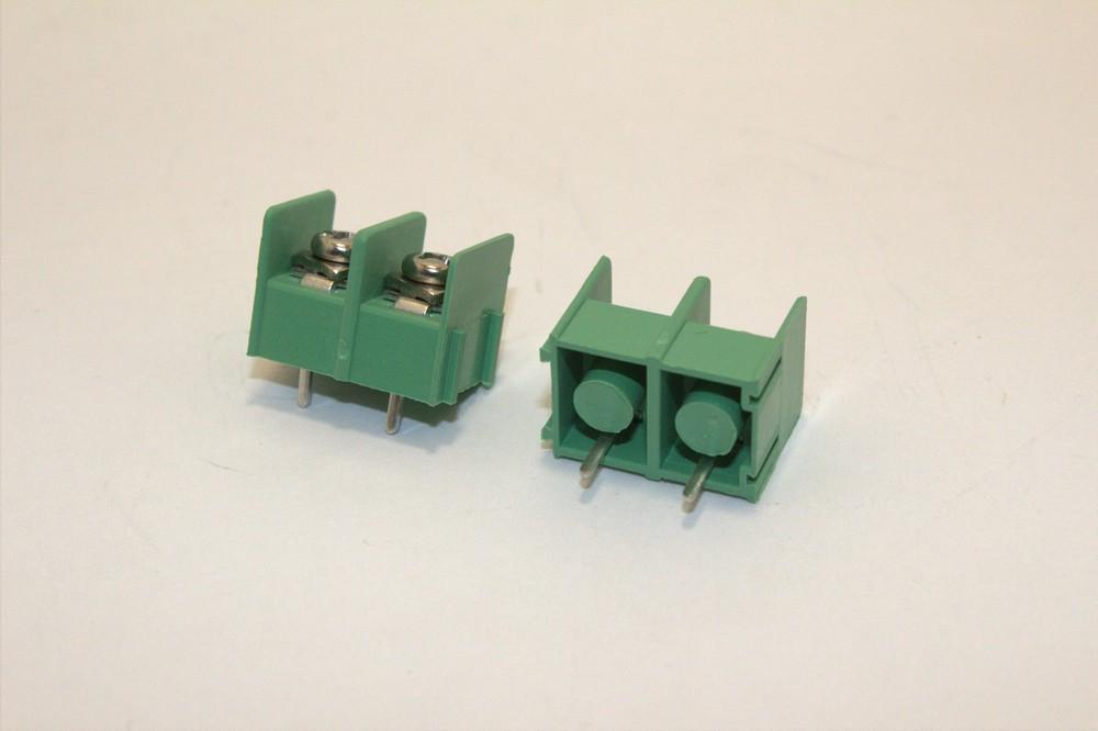 Клеммная колодка KF8500-2P шаг 7.62 мм