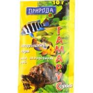 Корм д/риб 10г Гаммарус
