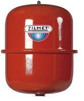 Круглый Расширительный бак для Систем отопления Zilmet CAL-PRO 8. для Котлов, Зилмет, Гидроаккумулятор.
