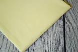 Лоскут ткани №33 однотонная бязь песочного цвета, размер 34*54 см, фото 2