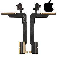 Шлейф для Apple iPad 4, коннектора наушников, с компонентами (оригинал)