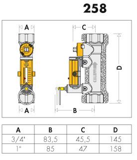 купить балансировочный клапан для гелиосистем