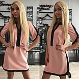 Женское обворожительное стильное летнее платье-туника (3 цвета)+ (Большие размеры), фото 2