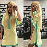Женское обворожительное стильное летнее платье-туника (3 цвета)+ (Большие размеры), фото 5