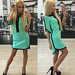 Женское обворожительное стильное летнее платье-туника (3 цвета)+ (Большие размеры), фото 6