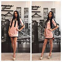 Женское обворожительное стильное летнее платье-туника (3 цвета)+ (Большие размеры), фото 1