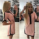 Женское обворожительное стильное летнее платье-туника (3 цвета)+ (Большие размеры), фото 4