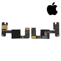 Шлейф для Apple iPad 3, микрофона, с компонентами, (версия Wi-fi) (оригинал)