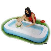 """Детский надувной бассейн Intex 57403 прямоугольный """"Морской"""" 166*100*28см, бассейн для дачи интекс"""