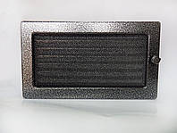Решетка каминная крашеная с жалюзи, 17x30 см, фото 1