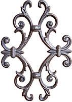 Декоративный кованый элемент 315х220х14х14