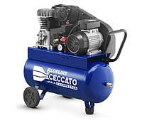 Компрессор объем ресивера 50л., 230В/50Гц, вход 255л/мин., 10бар, 1.5 кВт, 44кг  CECCATO Blueline 50BC2.