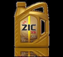 Синтетическое моторное масло ZIC X9 LS 5W-30  4 литра
