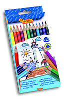 Цветные карандаши Jovi, трехгранные 12 цветов (733/12)