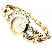 Красивые женские часы, кварцевый механизм